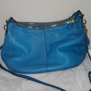 J. Crew Bluw Leather Hobo Bag